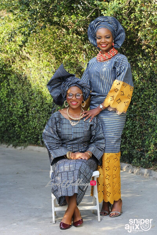 Nigerian Garden Shoot Artsmith Collections by Gbenga Dada - The Throwback LoveweddingsNG 4