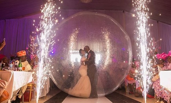 Nigerian Grand Entrance Reception #DestinationIDO16 LoveweddingsNG