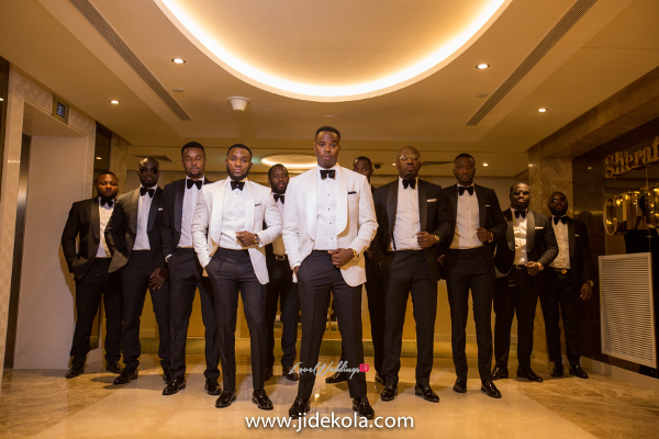 Nigerian Groom and Groomsmen LoveweddingsNG Jide Kola