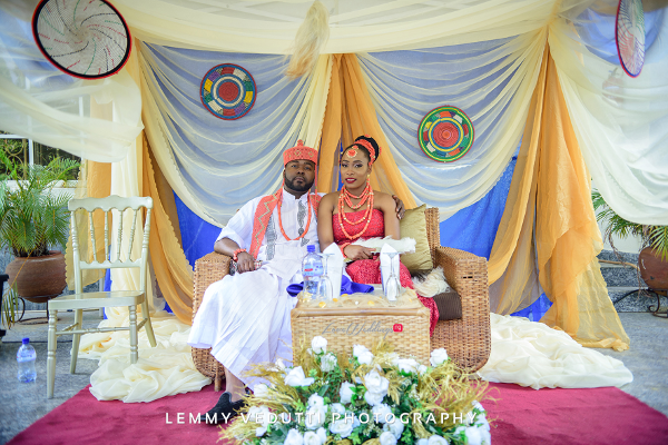 Nigerian Traditional Bride And Groom Jane and Solomon Lemmy Vedutti Photography LoveweddingsNG 3