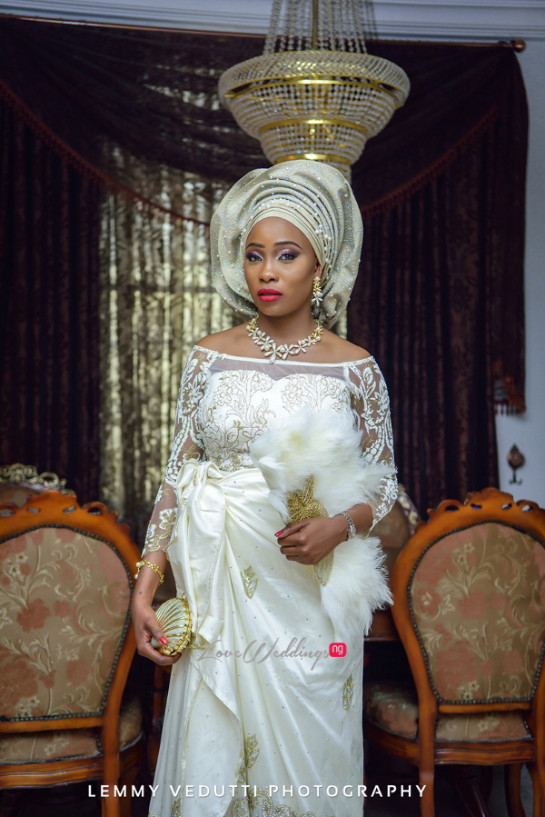 Nigerian Traditional Bride Jane and Solomon Lemmy Vedutti Photography LoveweddingsNG