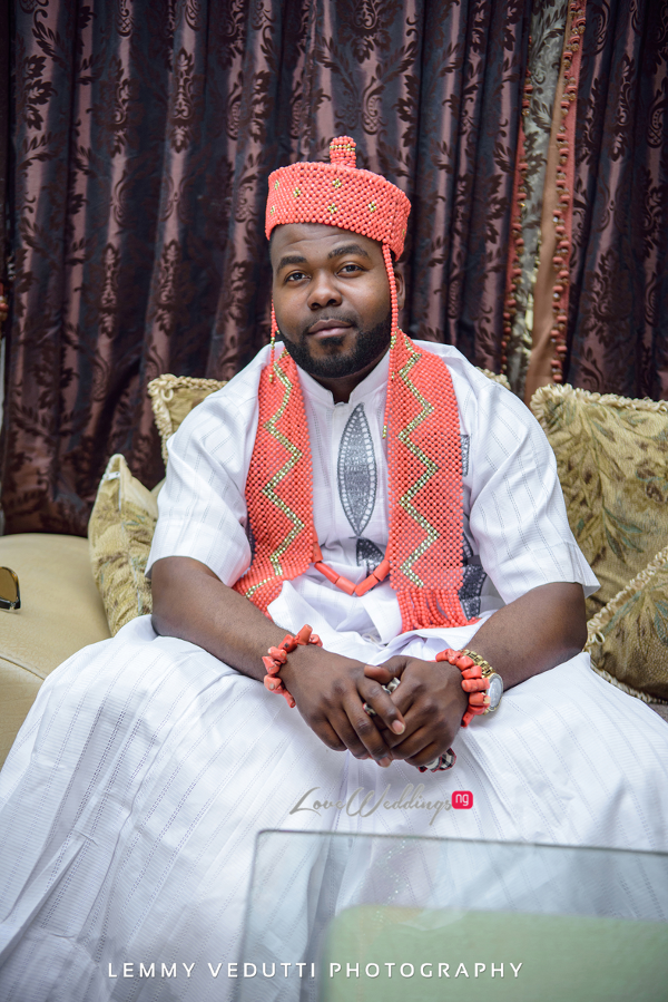 Nigerian Traditional Groom Jane and Solomon Lemmy Vedutti Photography LoveweddingsNG