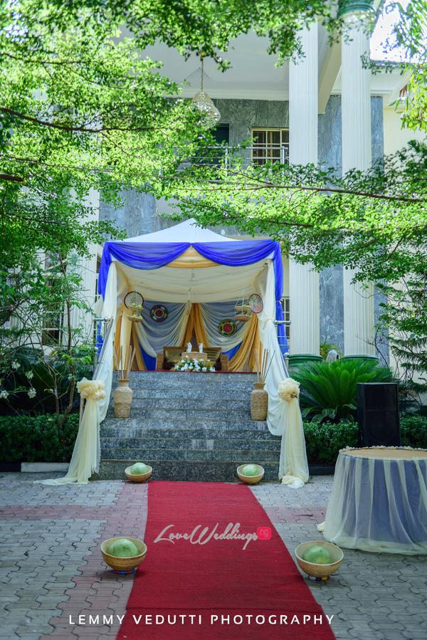 Nigerian Traditional Wedding Decor Jane and Solomon Lemmy Vedutti Photography LoveweddingsNG 1