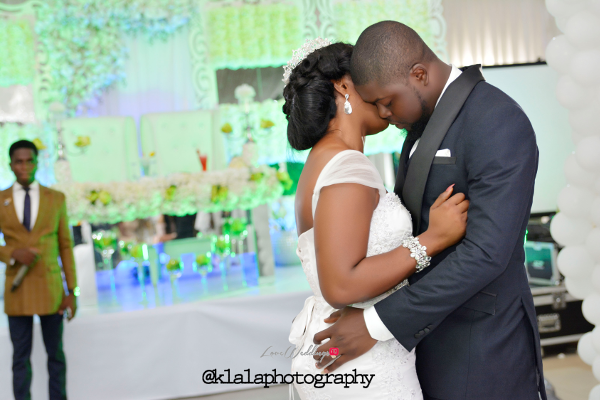 Nigerian Wedding Anu and Toye First Dance LoveweddingsNG Klala Photography