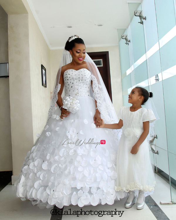 Nigerian Wedding Bride and Little Bride LoveweddingsNG Klala Photography 1