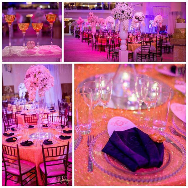 Nigerian Wedding Decor Kemi and Sydney Aquarian Touch LoveweddingsNG 1