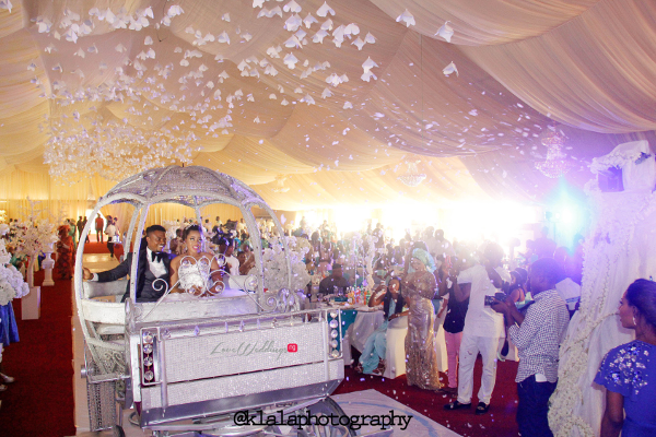 Nigerian Wedding Susan and Washington Grand Entrance Reception LoveweddingsNG Klala Photography