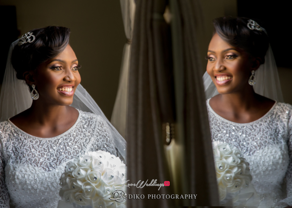 Nigerian White Wedding Esther and Ben Bride Diko Photography LoveweddingsNG 3