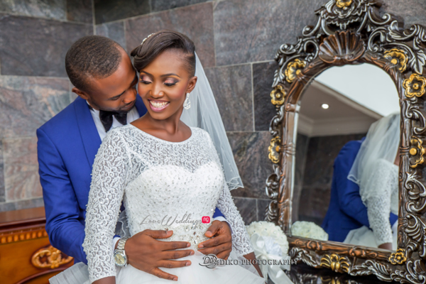 Nigerian White Wedding Esther and Ben Bride and Groom Diko Photography LoveweddingsNG 2