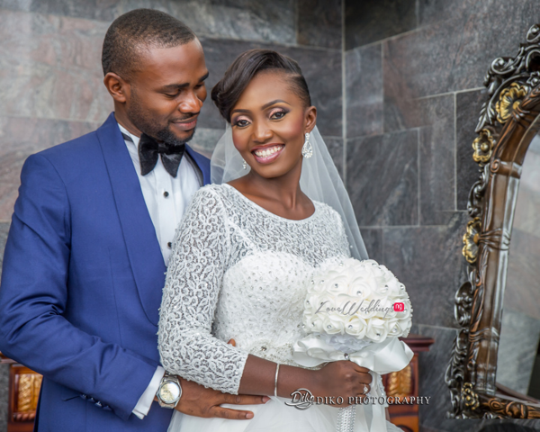 Nigerian White Wedding Esther and Ben Bride and Groom Diko Photography LoveweddingsNG 3