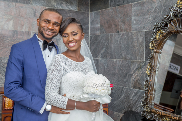 Nigerian White Wedding Esther and Ben Bride and Groom Diko Photography LoveweddingsNG 4