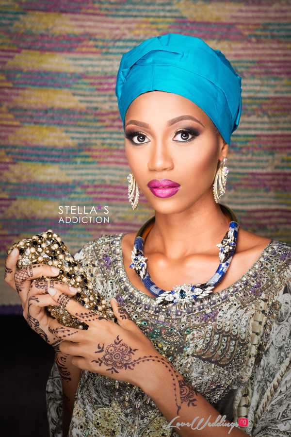 Northern Bridal Makeup Shoot Stellas Addiction LoveweddingsNG 1