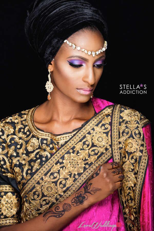 Northern Bridal Makeup Shoot Stellas Addiction LoveweddingsNG 10