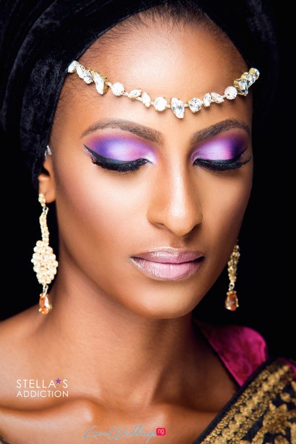 Northern Bridal Makeup Shoot Stellas Addiction LoveweddingsNG 11