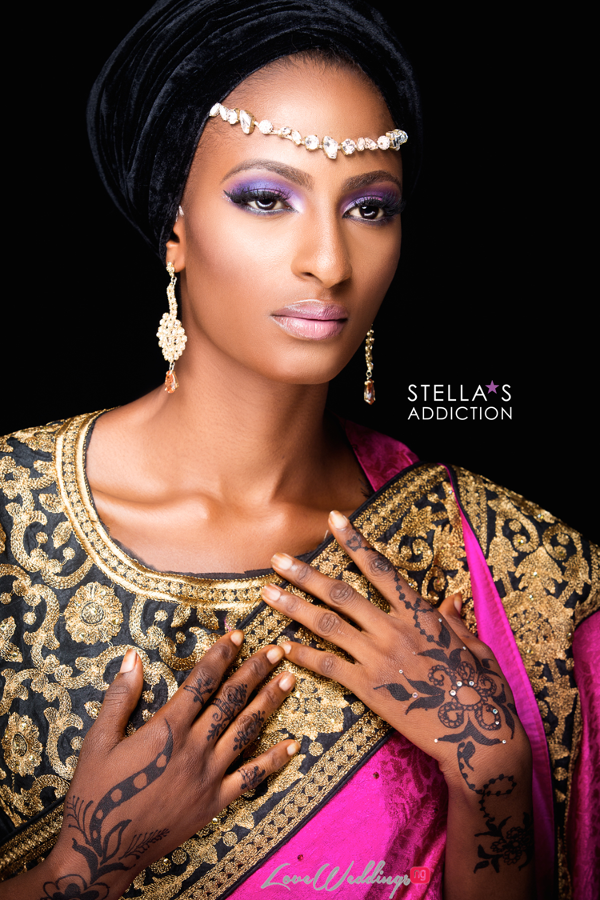 Northern Bridal Makeup Shoot Stellas Addiction LoveweddingsNG 12