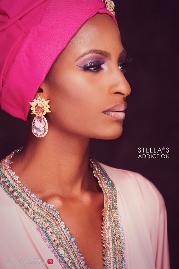 Northern Bridal Makeup Shoot Stellas Addiction LoveweddingsNG 3