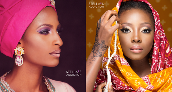 Northern Bridal Makeup Shoot Stellas Addiction LoveweddingsNG feat