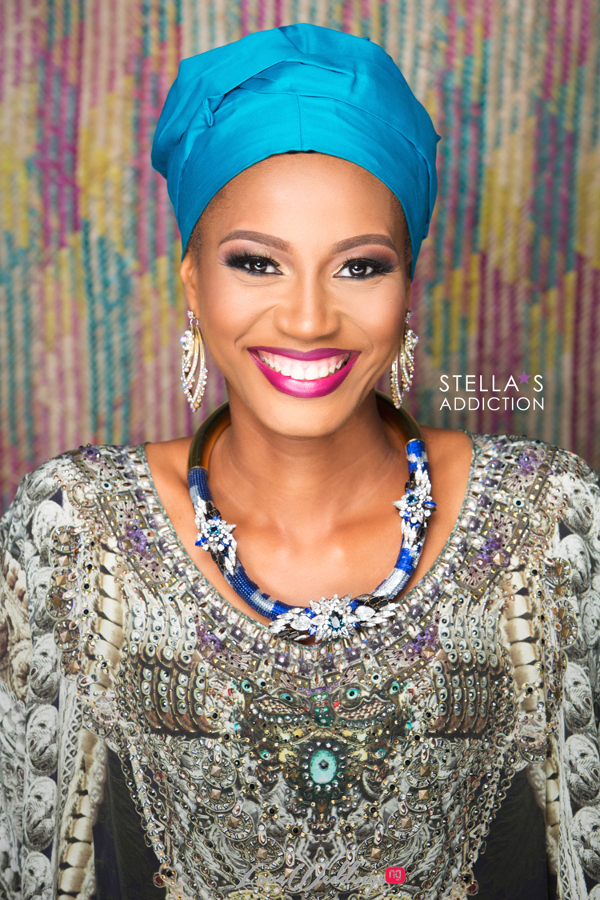Northern Bridal Makeup Shoot Stellas Addiction LoveweddingsNG