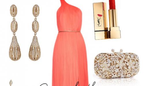 Red Carpet Inspired Look 1 My Velvet Box NG LoveweddingsNG