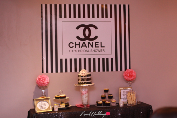 Titi's Chanel Themed Bridal Shower Cakes Partito By Ronnie LoveweddingsNG 1