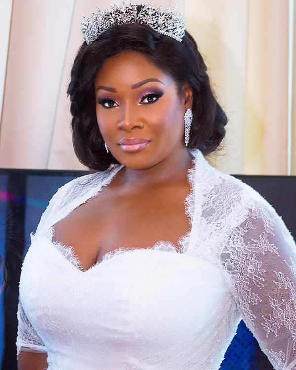 Tolu Oniru Tunde Demuren Dubai Wedding Bridal Makeup LoveweddingsNG