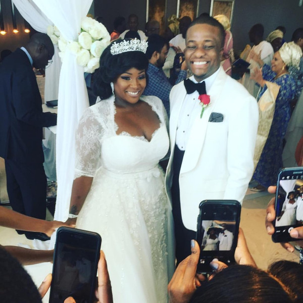 Tolu Oniru Tunde Demuren Dubai Wedding Bride and Groom LoveweddingsNG 1