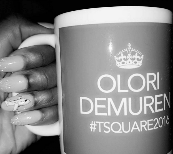 Tolu Oniru Tunde Demuren Dubai Wedding Customised Mug LoveweddingsNG