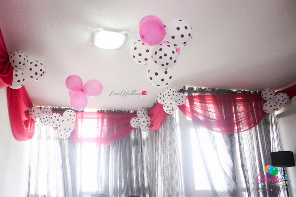 Yetunde's Kate Spade Themed Bridal Shower Balloons LoveweddingsNG Partito by Ronnie