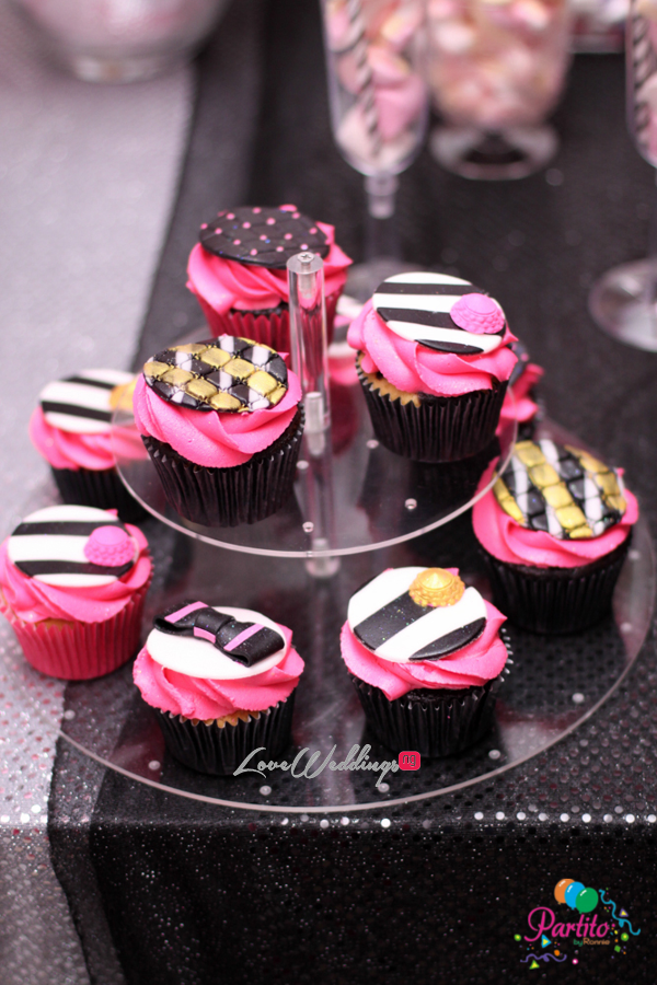 Yetunde's Kate Spade Themed Bridal Shower Cupcakes LoveweddingsNG Partito by Ronnie