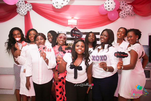 Yetunde's Kate Spade Themed Bridal Shower Guests LoveweddingsNG Partito by Ronnie