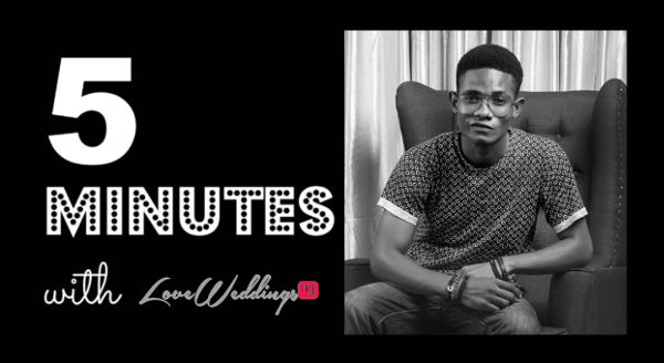 5 Minutes With Akan Emmanuel Photography LoveweddingsNG