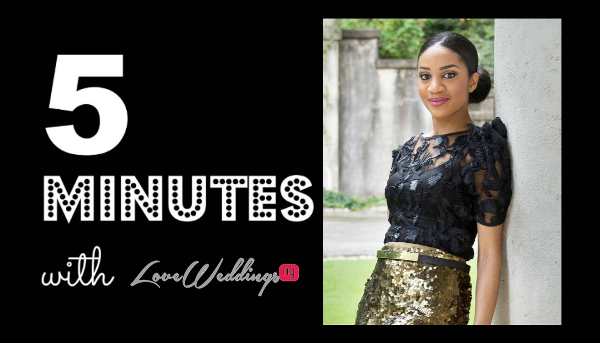 5 Minutes With Brides by NoNa LoveweddingsNG
