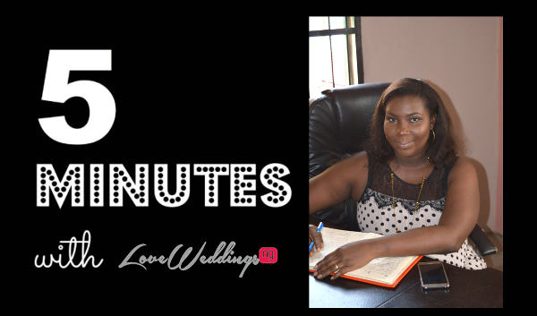 5 Minutes With Doubra Brad_E Events Wedding Planner in Warri LoveweddingsNG