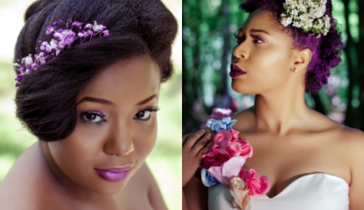 Berry Curvy Bridal Inspiration Shoot LoveweddingsNG feat