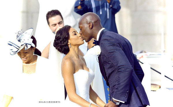 Chinwetel Ejiofor's sister Kandi weds Dele #Kandele Destination Wedding Croatia LoveweddingsNG feat