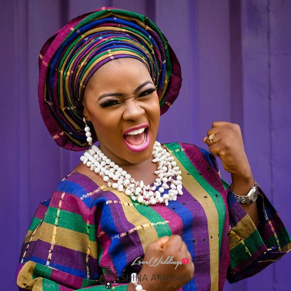 Elizabeth Da Silva Nollywood Actress Birthday Traditional Bride LoveweddingsNG 5