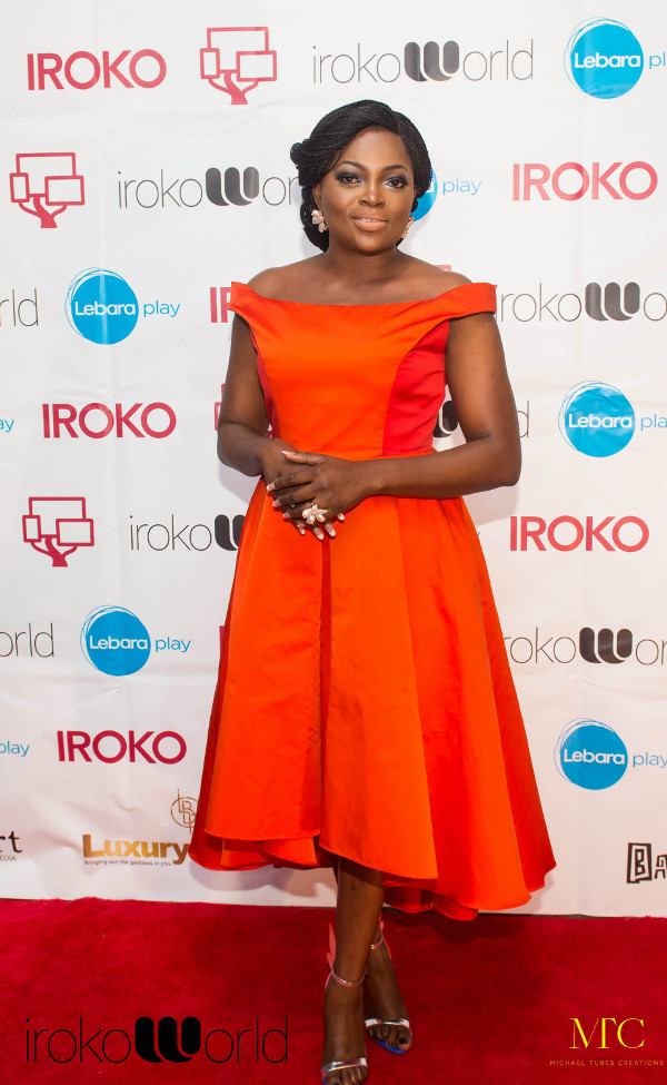 Funke Akindele Jenifa iROKO World LoveweddingsNG 2