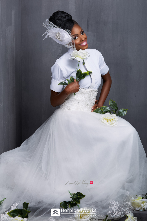 Ghanaian Model Victoria Michaels Bridal Shoot LoveweddingsNG Horpload Works 7