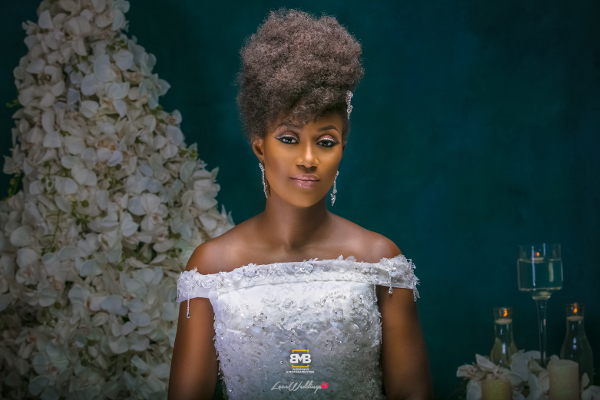 Glam Your Wedding Dress Project BMB Photography Omazpro Beauty LoveweddingsNG 1