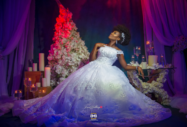 Glam Your Wedding Dress Project BMB Photography Omazpro Beauty LoveweddingsNG 13.