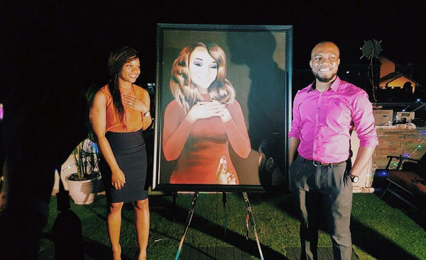 Ilamina and Olise Painting Proposal in Nigeria LoveweddingsNG HOC Events 3