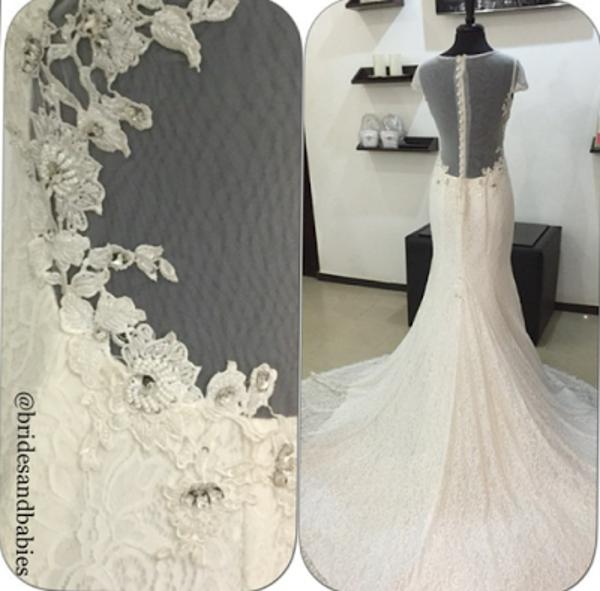 Nigerian Bridal Gown Alma Jesse LoveweddingsNG Brides & Babies