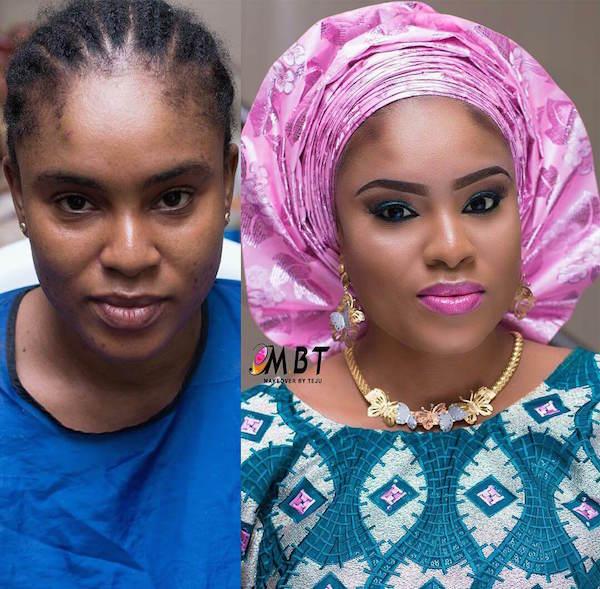Nigerian-Bridal-Makeover-Before-and-After-MBT-LoveweddingsNG