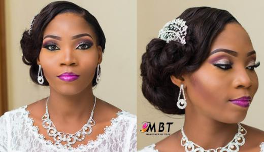 Nigerian Bridal Makeup Nazas Diary Makeover by Teju LoveweddingsNG 3