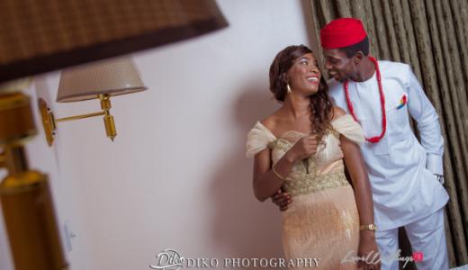Nigerian Engagement Shoot Nina and Emmanuel LoveweddingsNG Diko Photography