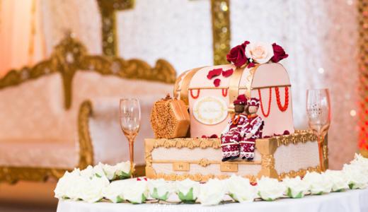 Nigerian Ghanaian Wedding Abi and Olivia Traditional Wedding Cake LoveweddingsNG