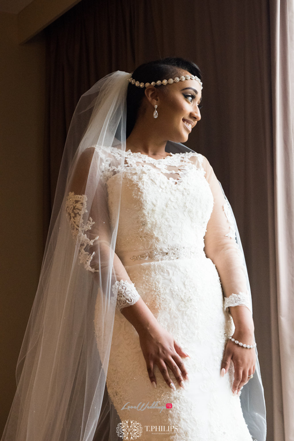 Nigerian Ghanaian White Wedding Abi and Olivia Bride LoveweddingsNG