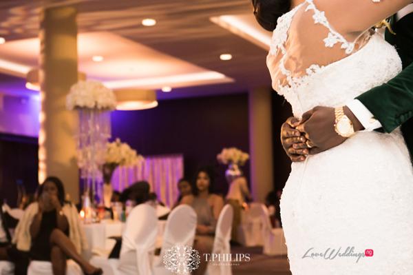 Nigerian Ghanaian White Wedding Abi and Olivia LoveweddingsNG 2