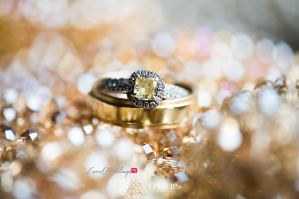 Nigerian Ghanaian White Wedding Abi and Olivia Rings LoveweddingsNG