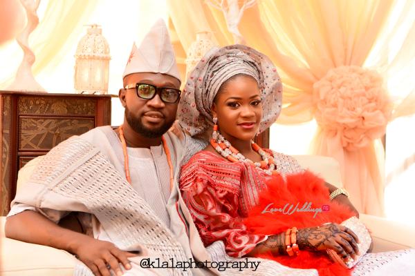 Nigerian Muslim Traditional Couple Rasheedat and Kamaldeen LoveweddingsNG Klala Photography 3